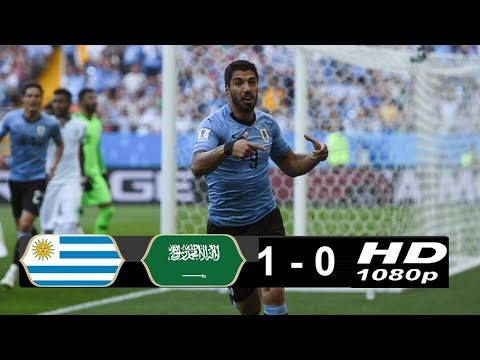 Uruguay vs Saudi Arabia 1 - 0  20/06/2018 World Cup