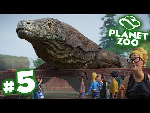 The Great Komodo Dragon Escape!!! - Planet Zoo   Ep5 HD
