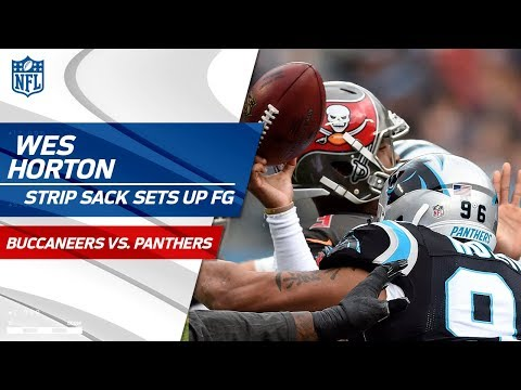 Video: Wes Horton Strip Sacks Jameis Winston to Set Up Carolina FG! | Buccaneers vs. Panthers | NFL Wk 16