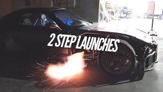 Crazier 2 Step Launches with the AWD 4 Rotor found a Problem!  Richard Hammond Roasted It! by Rob Dahm