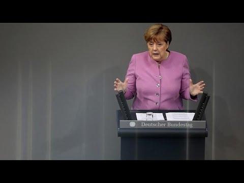 Μέρκελ: «Δεν πρέπει να αφήσουμε την Τουρκία να απομακρυνθεί κι άλλο»
