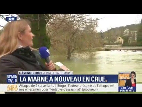 Inondations en Haute-Marne: des routes bloquées
