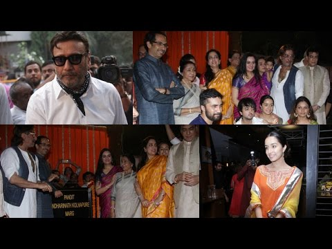 Inauguration Of Pandit Pandharinath Kolhapure Marg With Shraddha kapoor & Other Celebs