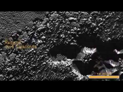 New Horizons Extreme CloseUp of Pluto s Surface