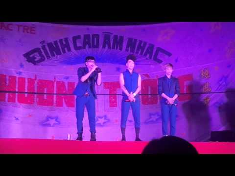 Lệ Tình & Beatbox ngẫu hứng HKT tại Mỏ Cày Bắc - Bến Tre