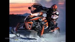 6. Arctic Cat ProCross 2015 snowmobiles on caterpillars review