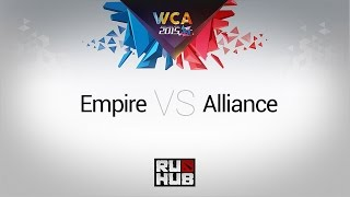 Empire vs Alliance, game 3
