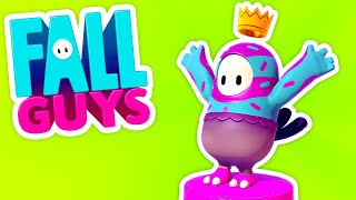 • MY FIRST WIN IN FALL GUYS!!! • - Fall Guys (Gameplay / Let's Play)