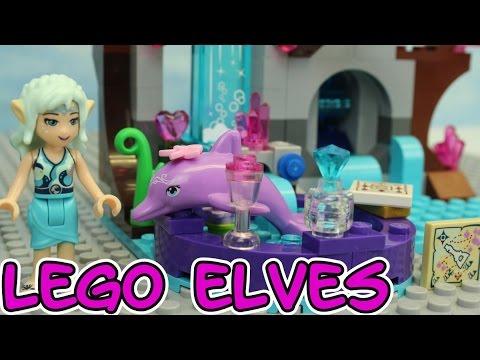 Vidéo LEGO Elves 41072 : Le spa de beauté de Naida