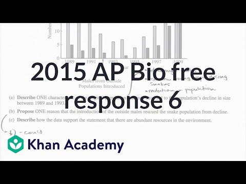 ap bio free response