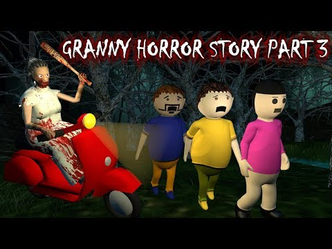 Android Game Granny Horror Story Part 3 (Animated In Hindi) Make Joke Horror