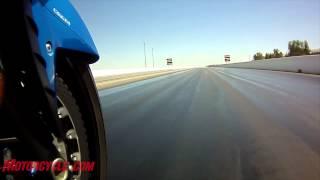 10. Hypersport Shootout: 2012 Kawasaki ZX-14R vs. 2012 Suzuki Hayabusa LE