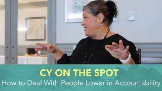 In this video, Cy shares some lessons for when you believe you have a team member or team members that appear to be in a...