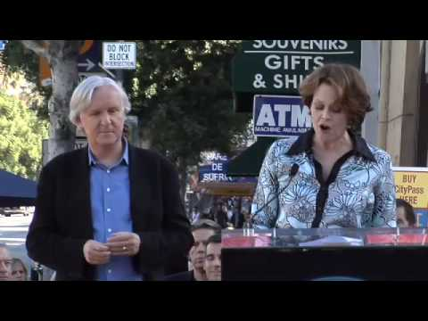 James Cameron Walk of Fame Ceremony