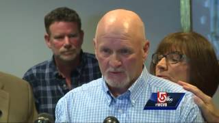 A group of people reacted Wednesday to the upcoming release of a pedophile priest.Subscribe to WCVB on YouTube for more: http://bit.ly/2526UpSGet more Boston news: http://www.wcvb.comLike us: https://www.facebook.com/wcvb5Follow us: https://twitter.com/WCVBGoogle+: https://plus.google.com/+wcvb