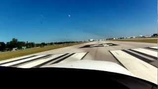 Cirrus SR22 Take Off From Peter O'Knight Airport ( KTPF ) Tampa