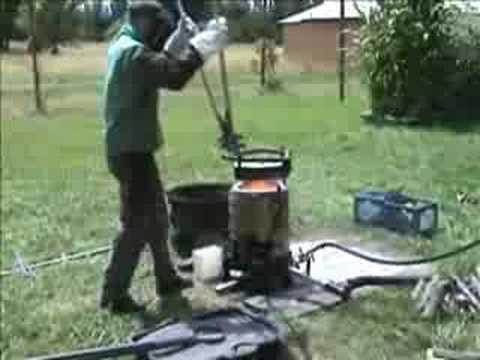 backyard iron casting