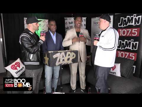 Zapp - Backstage at Jam'n 107.5 Boo Bomb 6