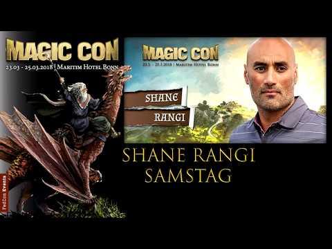 MagicCon (2018) Sa. Panel Shane Rangi