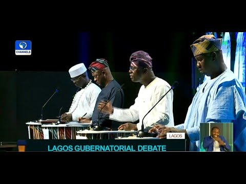 Download Badamosi, Sanwo-Olu, Agbaje, Salis Slug It Out At Lagos Governorship Debate