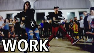 WORK - Rihanna Dance Video | @MattSteffanina Choreography ft Fik-Shun