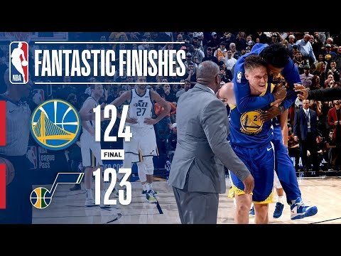 The Warriors and Jazz Go Down to the Final Seconds   October 19, 2018