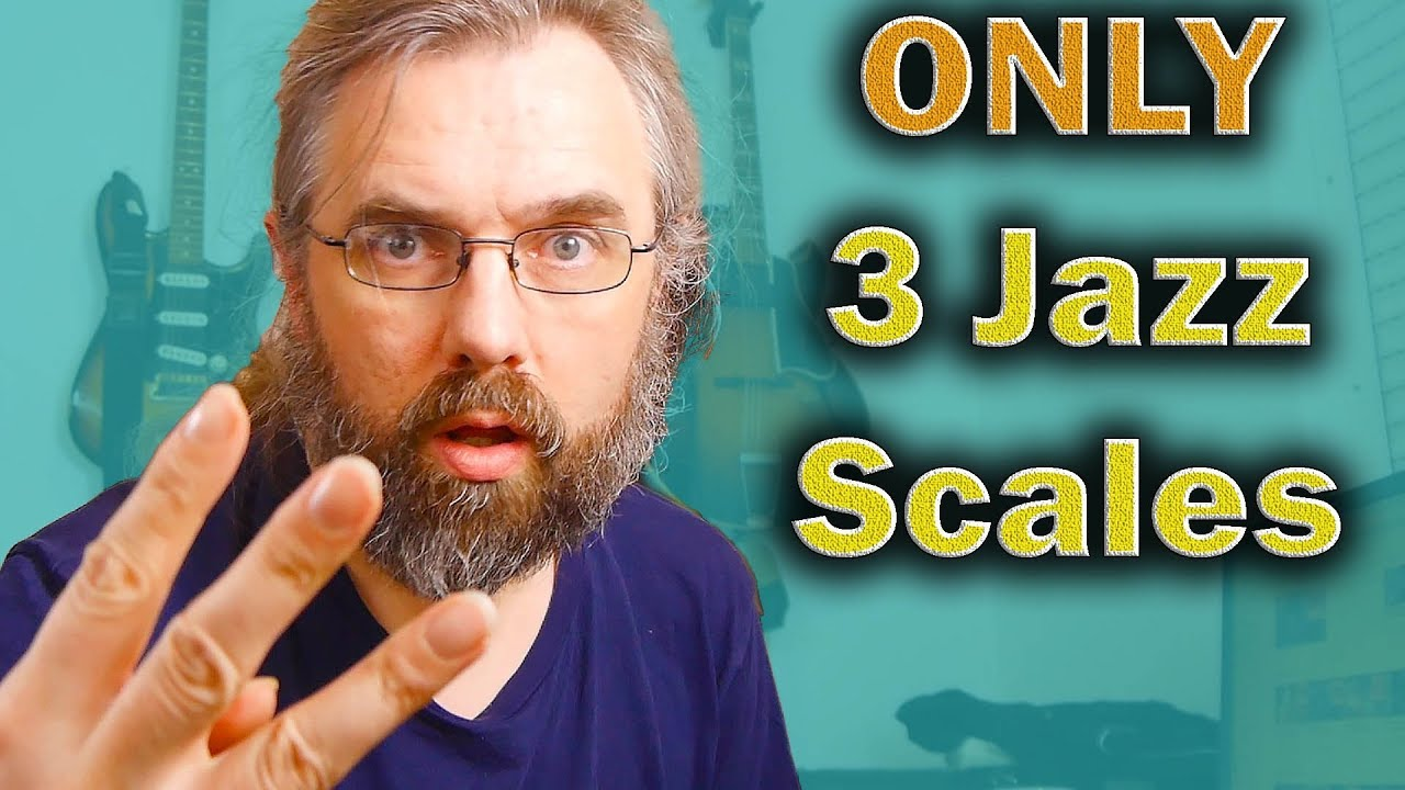 Jazz Scales! The 3 You Need to practice and How You apply them to Jazz Chords