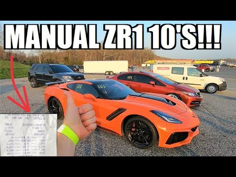 2019 ZR1 TOO FAST For the Track?!? BONE STOCK WORLD RECORD!!! (видео)