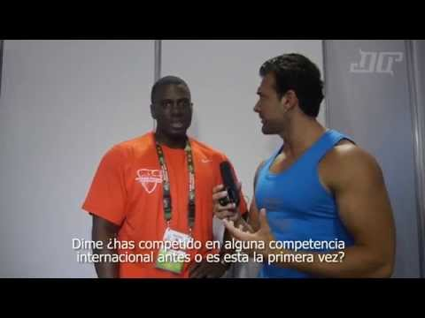 Entrevista Darnell Williams Mr Olympia Amateur 2014