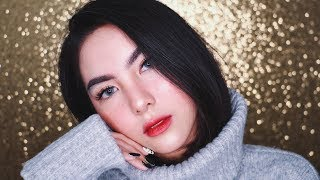 Video Christmas Winter Glass Skin with Faux Freckles Makeup Tutorial ❄️ MP3, 3GP, MP4, WEBM, AVI, FLV Desember 2018