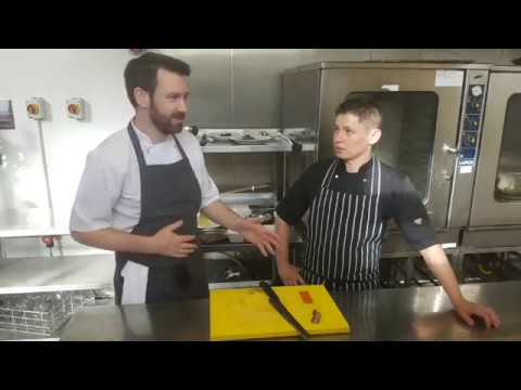 Chad Byrne, The Brehon - Facebook Live plating and Q&A for the Kerry ChefCollab