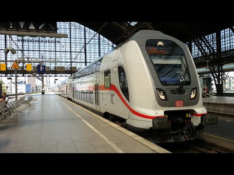 Züge in Köln Hbf(Teil1) mit IC2 - ICE - Thalys - Talent ...