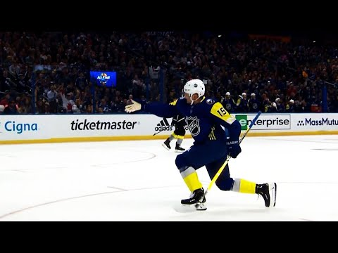 Video: Gotta See It: Eichel celebrates with Matthews' 'good goal' point at All-Star Game