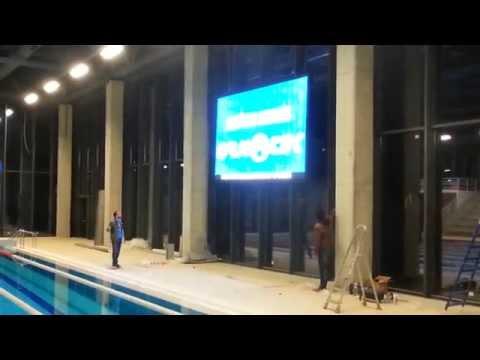 Vehbi Koç Vakfı İlköüretim Okulu ve Lisesi P8mm. Indoor Led Ekran Uygulaması