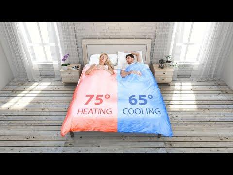 這條棉被可有2種溫度 夫妻們不用再搶了