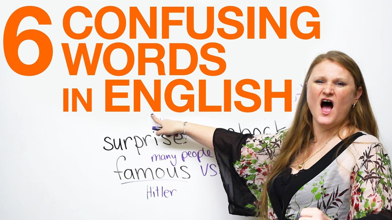 Confusing Words: fun & funny, famous & popular, surprise & shock ...