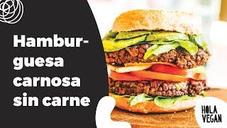 C - Cocina vegana:  hamburguesas
