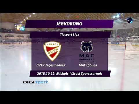 11. forduló: DVTK Jegesmedvék - MAC Újbuda 2-3 h.u.