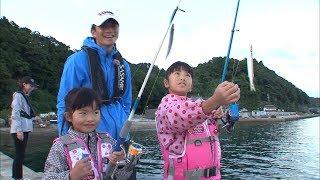 日本海の波止でファミリーフィッシング ウキ釣りでアオリイカを狙う!/四季の釣り/2017年10月20日放送