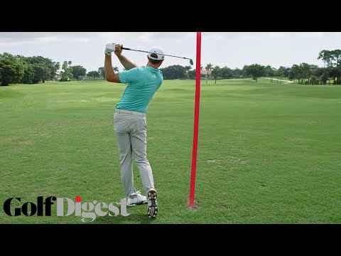 Dustin Johnson Perfectly Guesses His Shot Distance | Golf Ninjas | Golf Digest