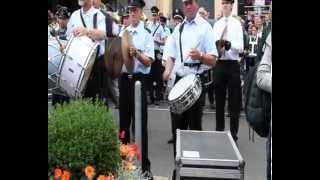 Bilker Schützen - Serenade - Freiheitsglocke