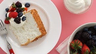 Gluten Free Angel Food Cake - Everyday Food with Sarah Carey by Everyday Food