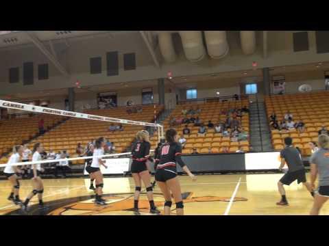 Women's Volleyball Orange/Black Scrimmage