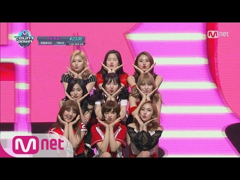 Video [TWICE - Cheer Up] KPOP TV Show l M COUNTDOWN 160519 EP.474 download in MP3, 3GP, MP4, WEBM, AVI, FLV January 2017