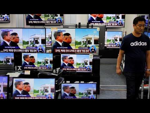 Κατ' ιδίαν συνάντηση Κιμ Γιονγκ Ουν – Μουν Τζε ιν