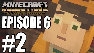 "Minecraft Story Mode - EPISODE 6 ""STAMPY"" GAMEPLAY WALKTHROUGH ""A Portal To Mystery"" (PART 2)"