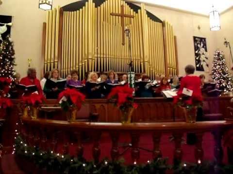 "Community Chorus ""Let It Snow/Walking In a Winter Wonderland"""