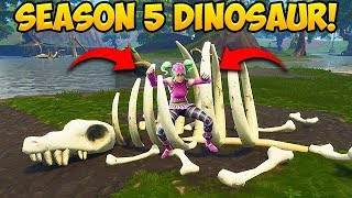 Video NEW DINOSAUR SKELETON FOUND! - Fortnite Funny Fails and WTF Moments! #253 (Daily Moments) MP3, 3GP, MP4, WEBM, AVI, FLV Juli 2018