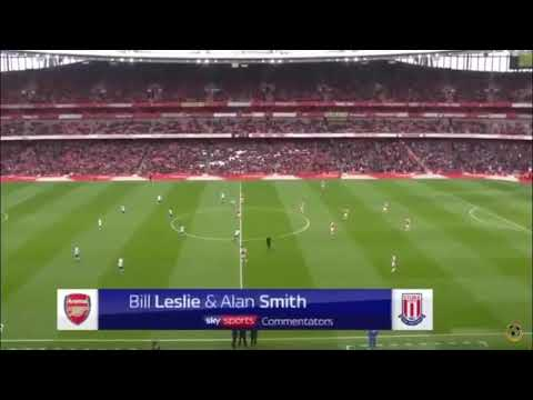 Arsenal vs stoke city highlights and all goals. English commentary