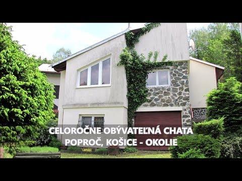 Chalupa, rekreačný domček, Poproč – Video
